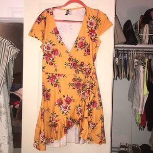 Floral Charlotte Russe Dress